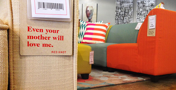New Furniture Brand Red Knot Designed By WalltoWall Studios - Red tag furniture