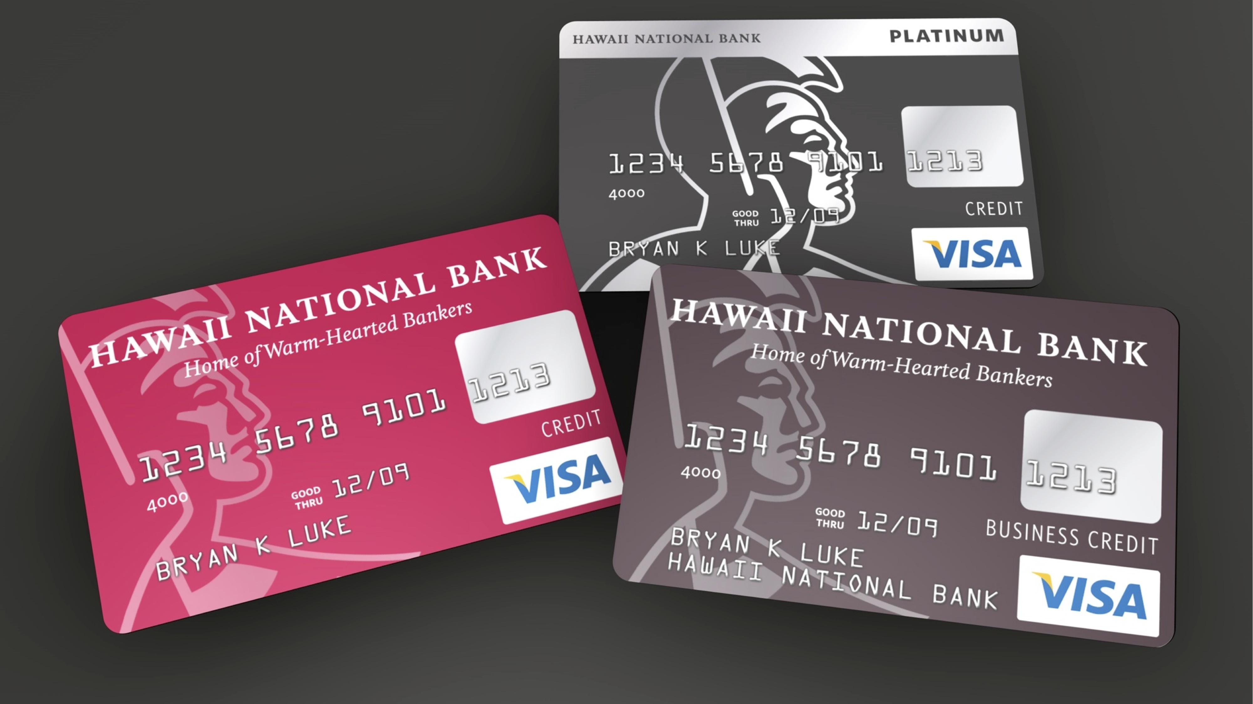 Hawaii national bank wall to wall studios hnb20credit20cards reheart Gallery