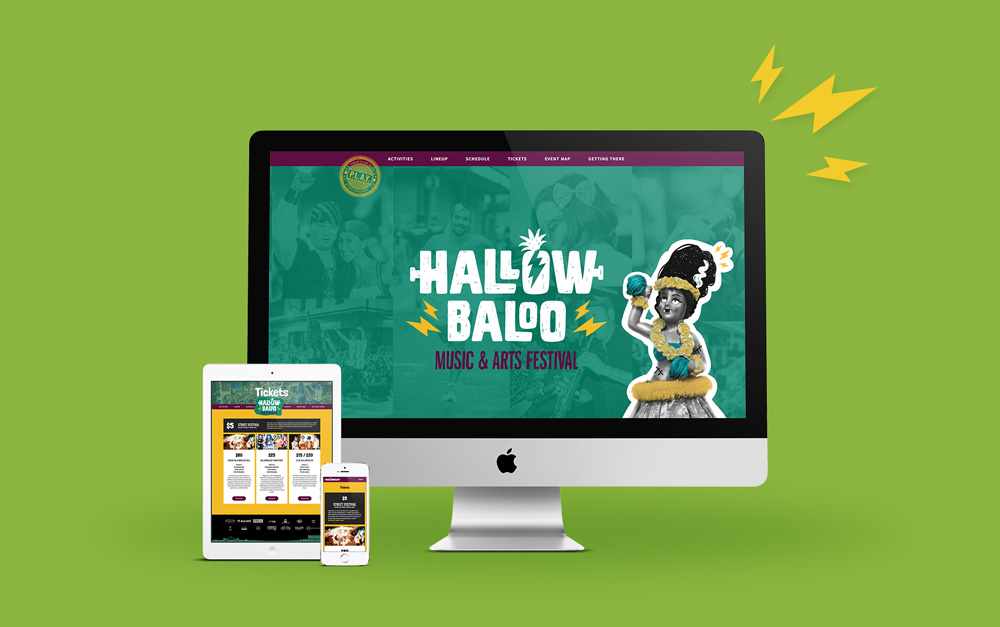 Hallowbaloo showcase