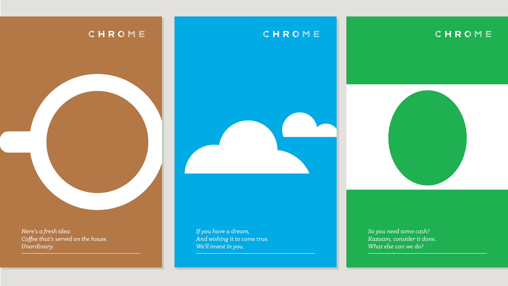 Chrome 11 posters