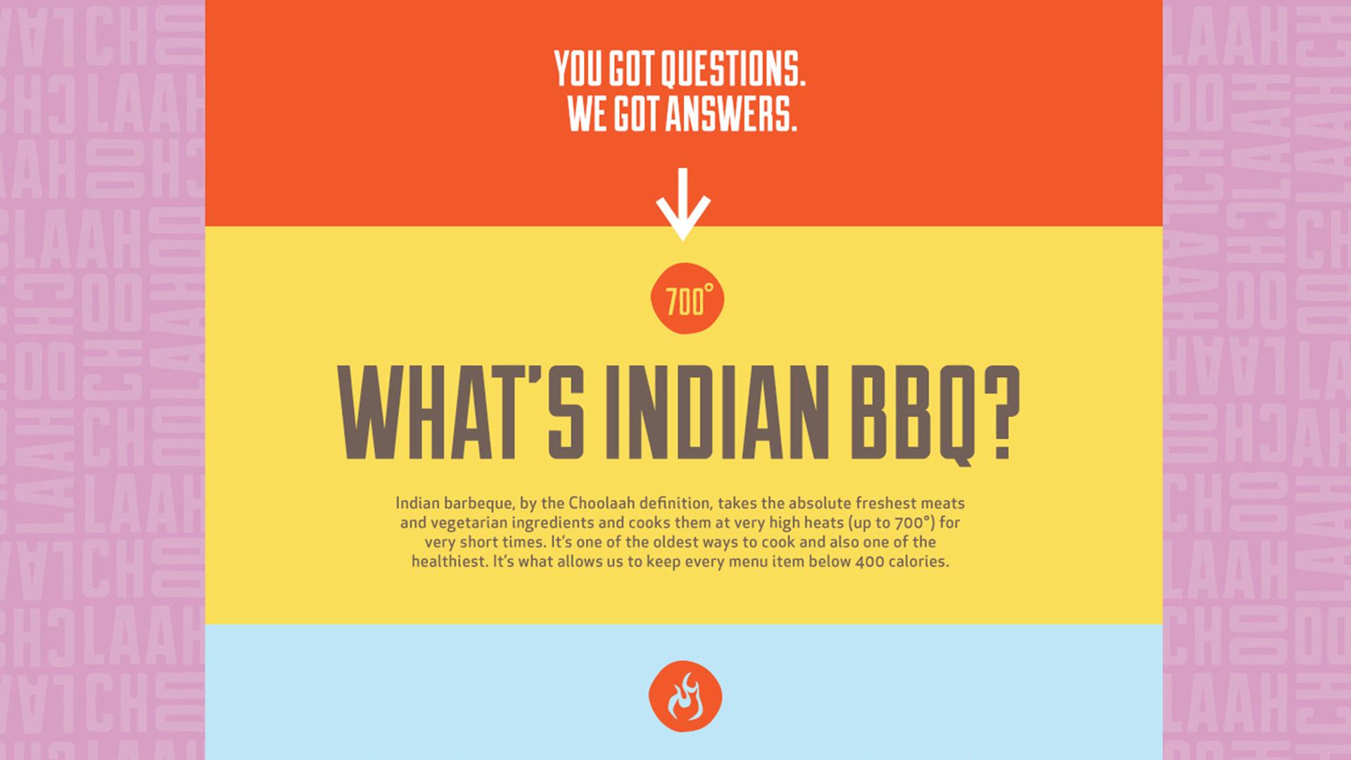 Choolaah Indian BBQ   Wall-to-Wall Studios