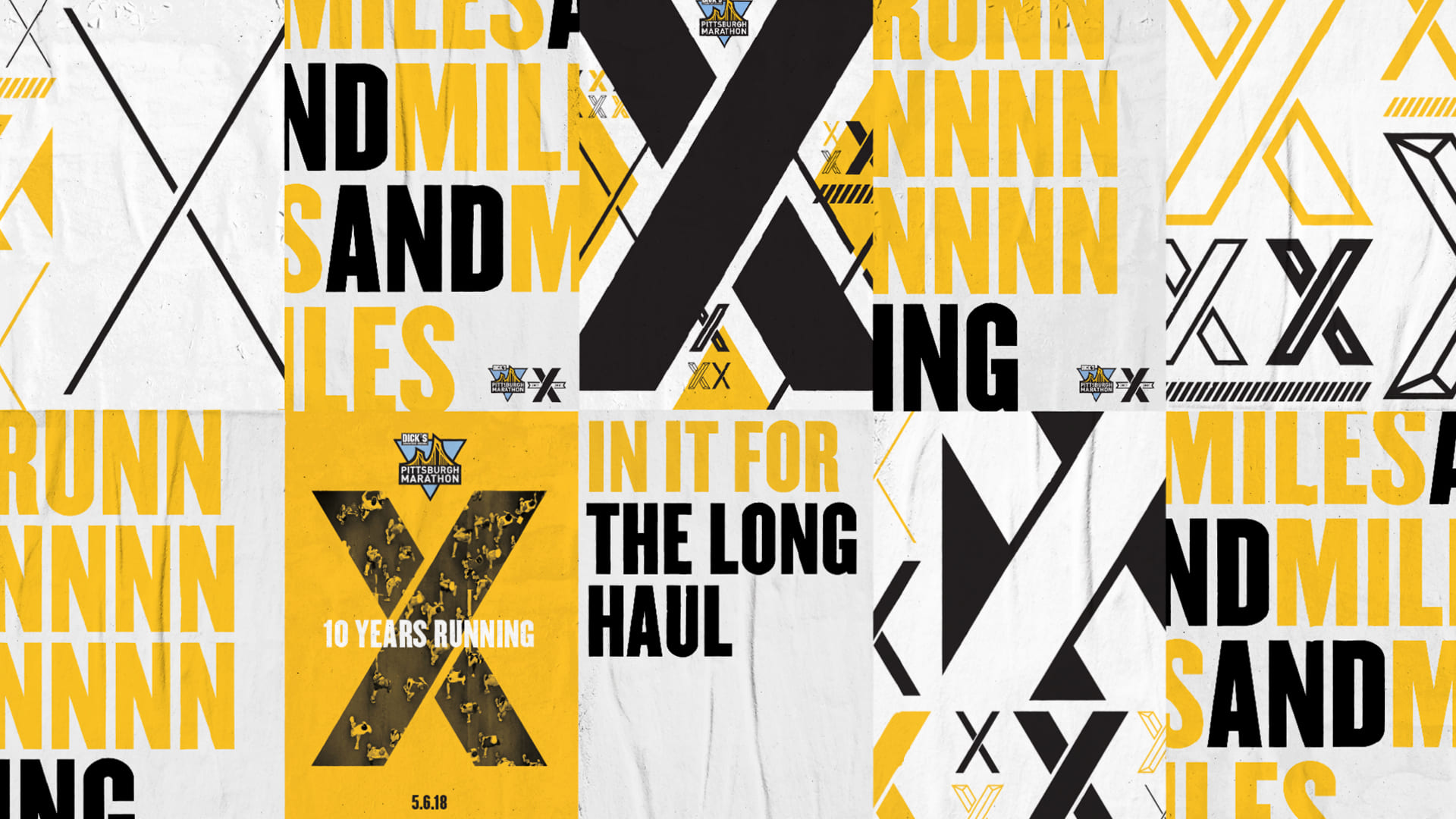 Wall To Wall Studios Designs Integrated Branding Campaign For Pittsburgh Marathon S 10th Anniversary Race Wall To Wall Studios,Simple Blouse Designs Front And Back Images