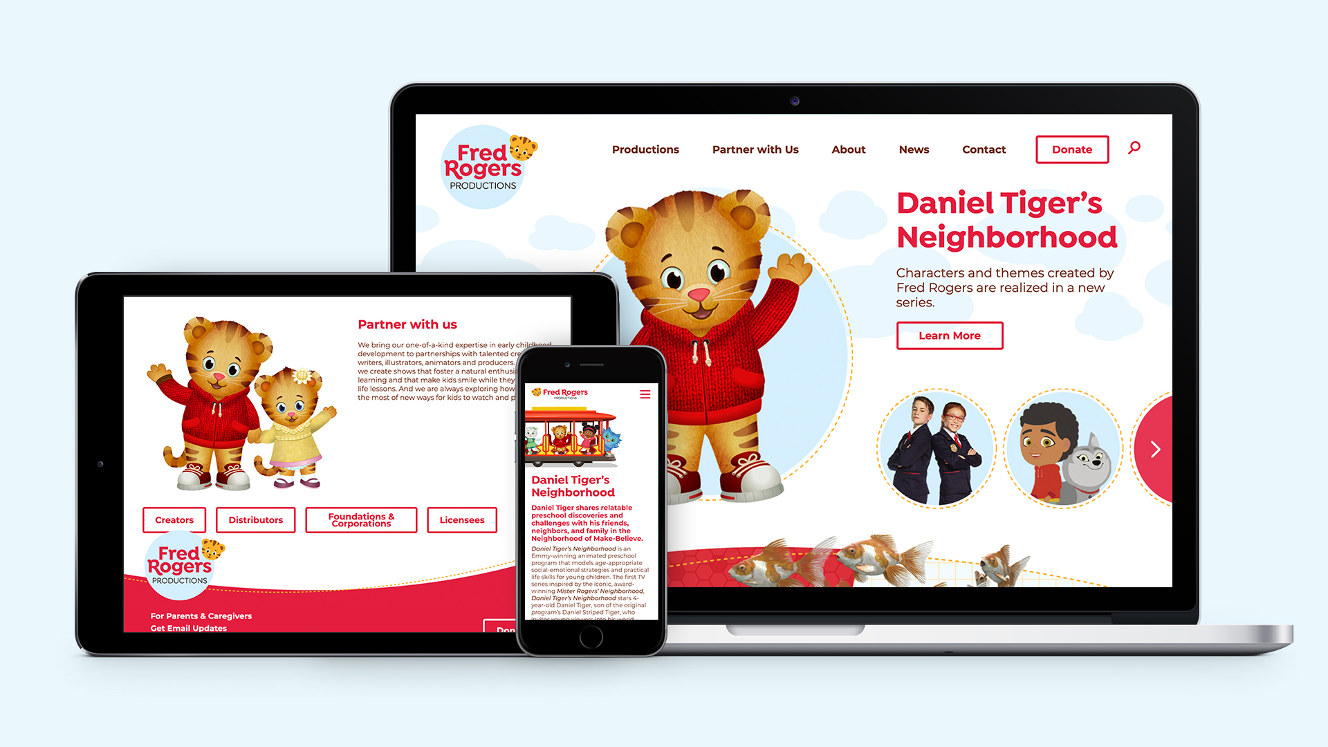 Wall To Wall Studios Designs And Develops Website For Fred Rogers Productions Wall To Wall Studios